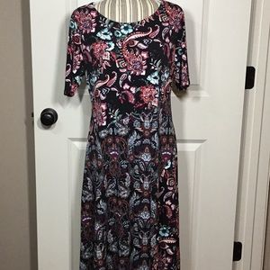 Chico's Mixed Floral Print Maxi Dress - NWT